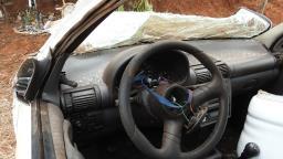 Jovem morre em hospital após capotagem na vicinal de Bueno