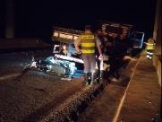 Motociclista é socorrido em estado grave após acidente na SP-255