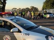 Mulher morre em acidente na Rodovia Washington Luís