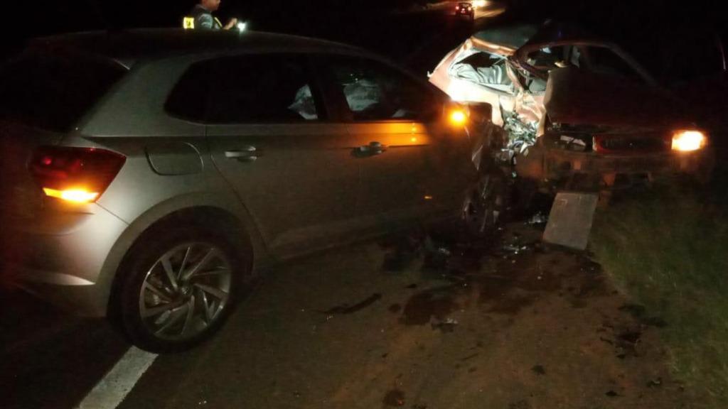 Acidente foi na noite desta segunda-feira (Foto: Divulgação) - Foto: (Foto: Divulgação)