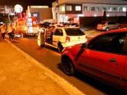 Via Expressa registra dois acidentes entre carro e moto na noite desta terça-feira (14)