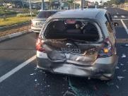 Homem vai preso após provocar acidente na Via Expressa