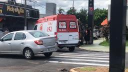 Três carros se envolvem em engavetamento na Avenida 36