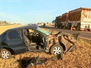 Homem fica ferido em acidente na rodovia Atílio Balbo