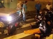 Motociclista fica ferida após ser atingida por caminhonete na Raimundo Corrêa