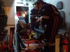 Ciclista sofreu fratura após desrespeitar semáforo e atingir veículo - Foto: ACidade ON - São Carlos
