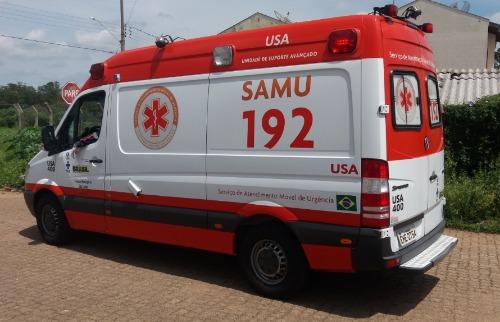 ACidade ON - São Carlos - Garupa foi socorrida por uma ambulância do Samu até a Santa Casa