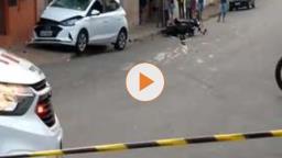 Motociclista fica gravemente ferido após sofrer acidente em São Carlos