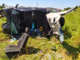 Motorista é socorrido em estado grave após acidente em rodovia