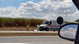 Ciclista morre após ser atropelado em rodovia da região