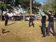 Guardas Municipais participam de curso de Condução de Cães de Polícia