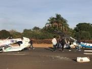 Aeronaves colidem em aeroclube de Itápolis