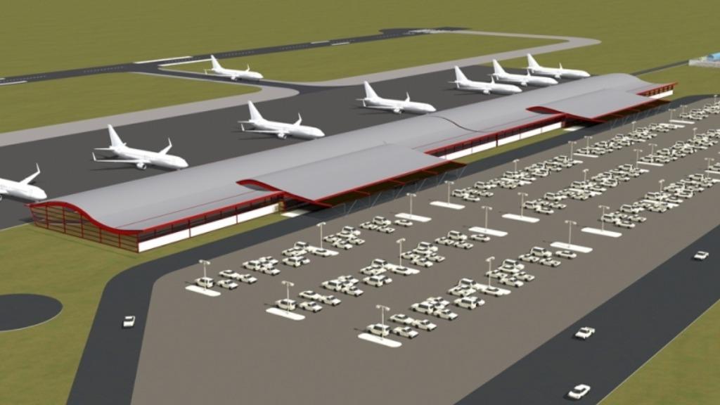 Projeto do Aeroporto de Olímpia (Imagem: Prefeitura de Olímpia) - Foto: ACidade ON - Ribeirão Preto