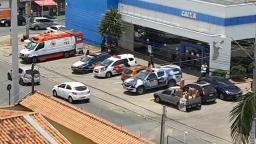 Agência bancária é alvo de bandidos em Hortolândia
