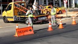 Via do Jd. Planalto terá trecho bloqueado no domingo