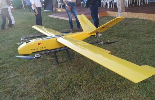 Agrishow traz o primeiro drone híbrido brasileiro que decola na vertical (Foto: Natalí Silva) - Foto: ACidade ON - Ribeirão Preto