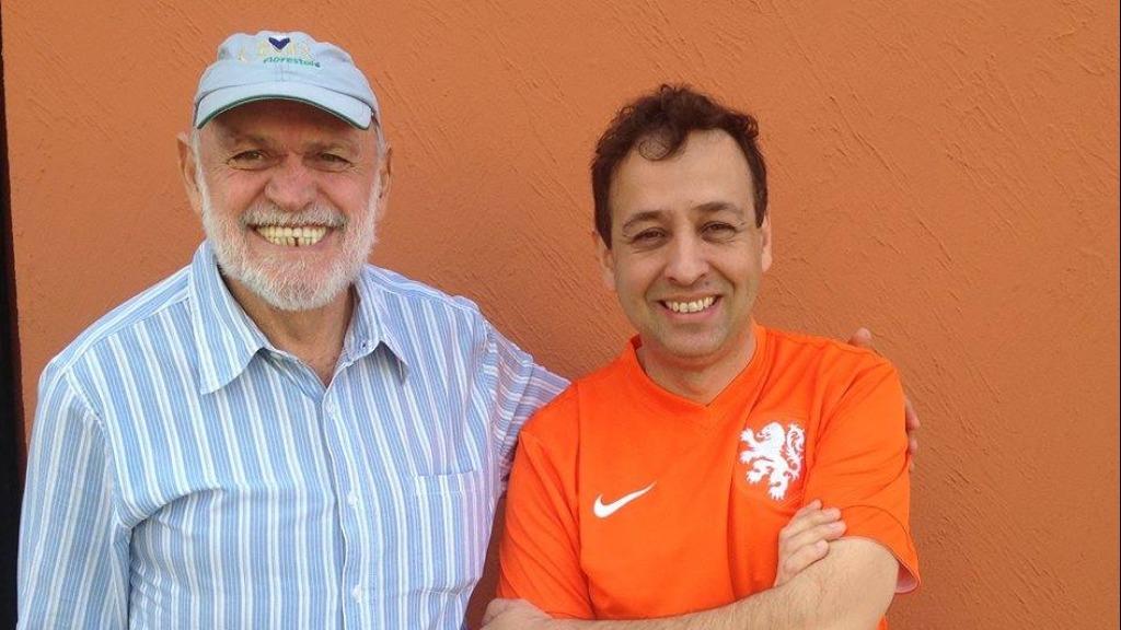 Airton Garcia com o vereador Chico Loco. Foto: Redes Sociais - Foto: DIVULGAÇÃO