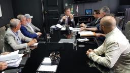 Airton Garcia se reúne com vice-governador para pedir recursos