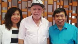 Airton Garcia recebe representantes da Taiwan Trade Center-Brasil