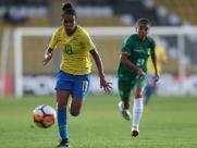 Aline Milene é convocada para a seleção brasileira feminina