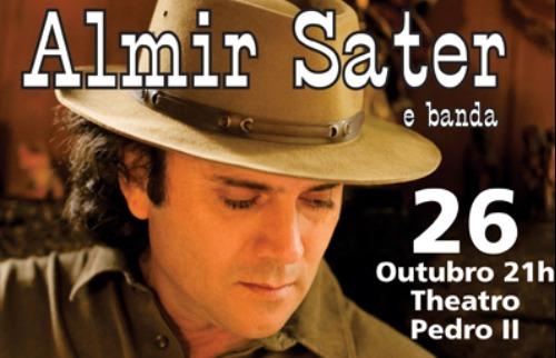 Almir Sater e banda - 26 de Outubro