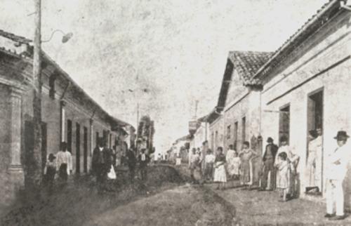 Da reportagem - Américo na década de 20