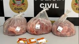 Homem é preso após furto de 12kg de carne em Amparo