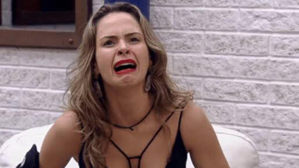 Ana Paula Renault foi uma das indicadas ao paredão falso (Foto: Rede Globo/Reprodução) - Foto: Rede Globo/Reprodução