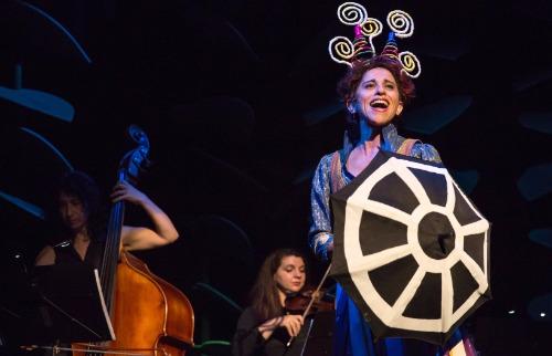 Divulgação / João Caldas - Andréa Bassitt participa de musical infantil 'Operilda na Orquestra Amazônica'