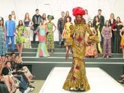 Maria, Nadir e a força da África na passarela