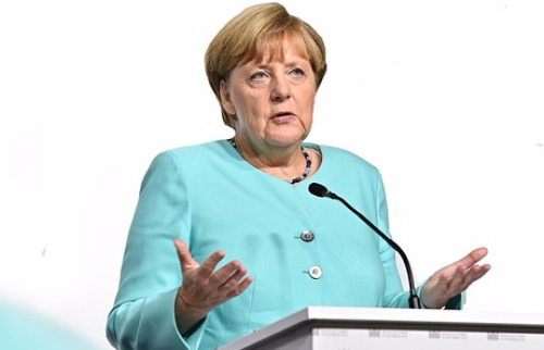 Geralt / Pixabay - Angela Merkel