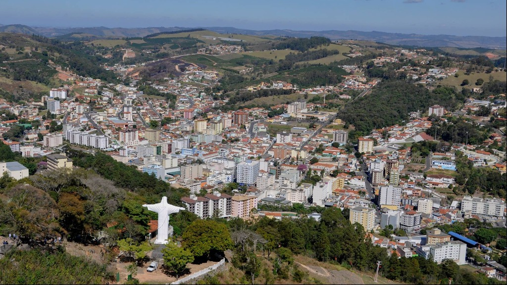 Vista de Serra Negra(Foto: Divulgação) - Foto: Divulgação