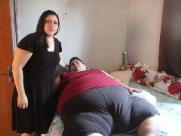 Antônio, com 286 kg, ganha aparelho gratuito, mas precisa de ajuda para custear medicamentos