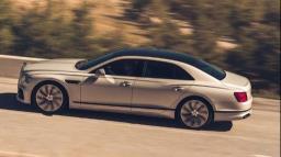 A espetacular terceira geração do Flying Spur da Bentley