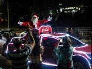 Conheça o trajeto da caravana da Coca-Cola neste domingo