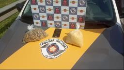 Dois suspeitos são presos com 1 kg de crack na Bandeirantes