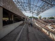 Novos camarotes do estádio Santa Cruz começam a ganhar forma