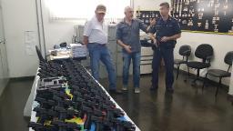Guarda Municipal de São Carlos vai receber armas de fogo nesta sexta