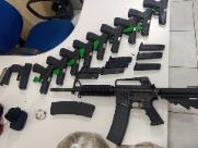 Casal é preso com armas em fundo falso de carro em rodovia de Bebedouro