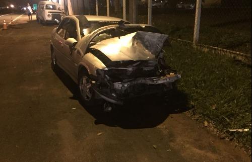 ACidade ON - São Carlos - Árvore cai e atinge carro que viajava pela Rodovia SP-215 em São Carlos