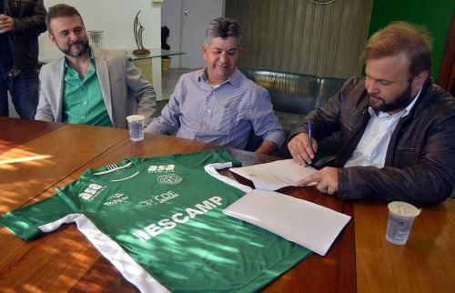 Divulgação - Assinatura do contrato foi na tarde desta terça-feira