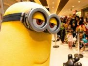 Shopping tem encontros gratuitos com Minions