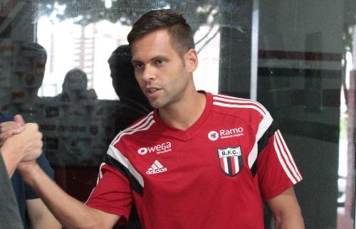 F.L.Piton / A Cidade - Lateral-esquerdo Augusto Ramos, revelado pelo Botafogo em 2003, havia retornado em 2014
