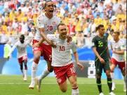 Dinamarca e Austrália empatam e seguem vivas no Grupo C