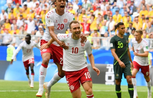 Austrália e Dinamarca empatam e seguem vivas na Copa do Mundo - Foto: Outros