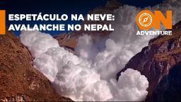 Vídeo impressionante da avalanche na geleira Kapuche