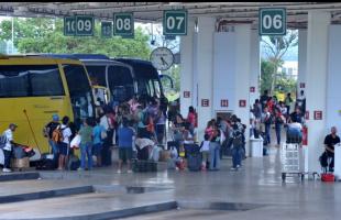 Valter Campanato/Agência Brasil - Terminal rodoviário
