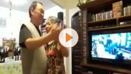 """VÍDEO: São-carlenses curtem """"Baile da Saudade"""" em casa"""