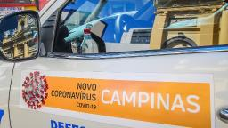 UTI-Covid: Campinas tem maior número de internados em 6 meses