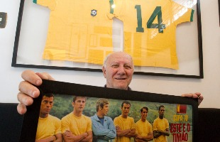 Matheus Urenha / A Cidade - Ex-zagueiro Baldocchi jogou com Carlos Alberto na Seleção dos anos 70